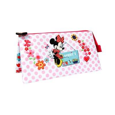 Estuche triple Minnie Mouse 23.5x13cm