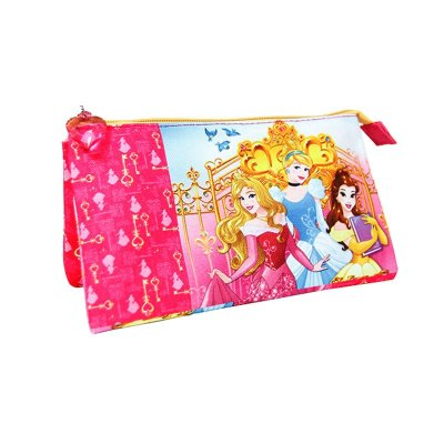 Wholesaler of Estuche triple Princesas Disney 23.5x13cm
