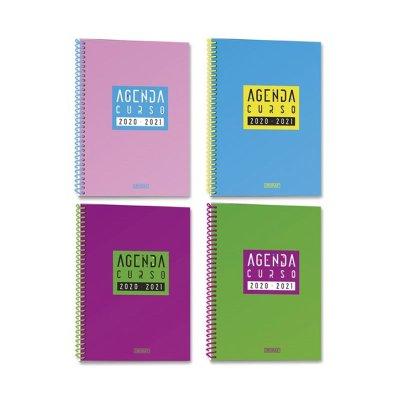 Agenda Escolar 2020/2021 Fluor 15,5x21,5cm