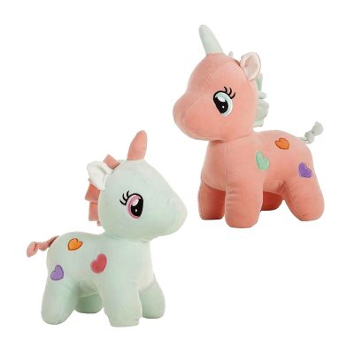 Wholesaler of Peluche Unicornio Corazon 40cm