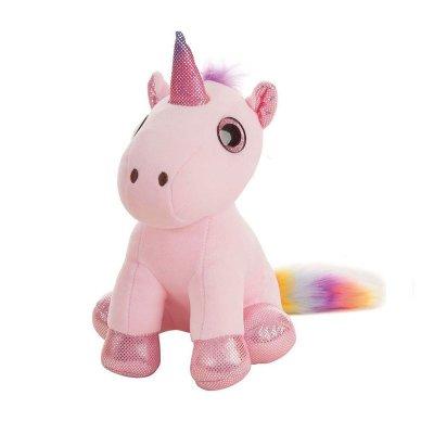 Peluche Unicornio 35cm - rosa