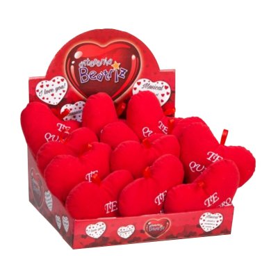 Distribuidor mayorista de Expositor peluches corazones 17cm