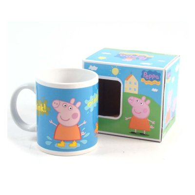 Wholesaler of Peppa Pig Oink Oink ceramic mug 320ml 11oz
