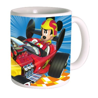 Wholesaler of Taza cerámica 320ml 11oz Mickey and The Roadster Racers