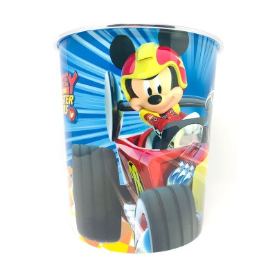 Papelera plástico Mickey and The Roadster Racers 22cm
