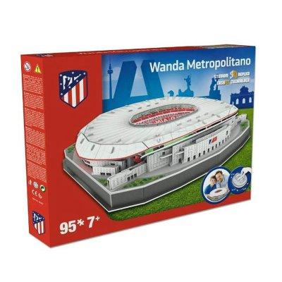 Puzzle 3D Estadio Wanda Metropolitano Atlético de Madrid