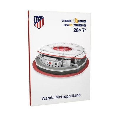 Mini puzzle 3D Estadio Wanda Metropolitano Atlético de Madrid