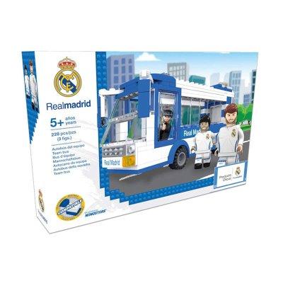 Autobús del equipo ladrillos Real Madrid