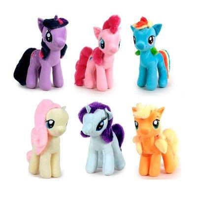 "Peluches My Little Pony 17cm 6"""