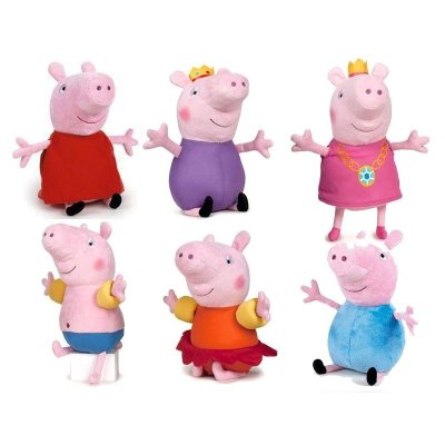 """Peluches Peppa Pig Oce Upon a Summer Time 27cm 10"""""""