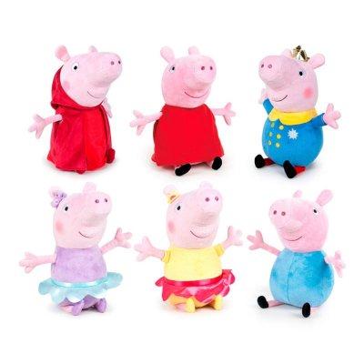 "Peluches Peppa Pig Ready For Fun 25cm 10"""