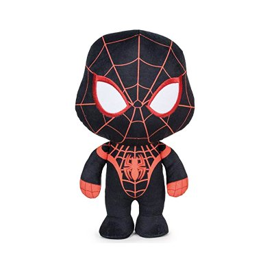 Peluche Black Spiderman Marvel 18cm