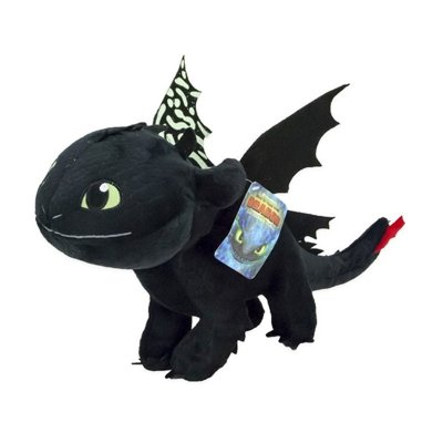 Peluche Desdentado Toothless Como Entrenar a tu Dragón 3 40cm