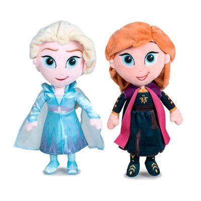 Wholesaler of Peluches Ana & Elsa Frozen 2 Disney 30cm