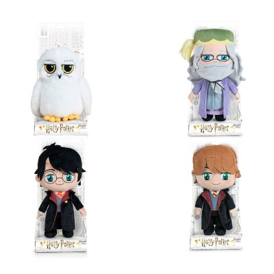 Peluche c/expositor Harry Potter 20cm