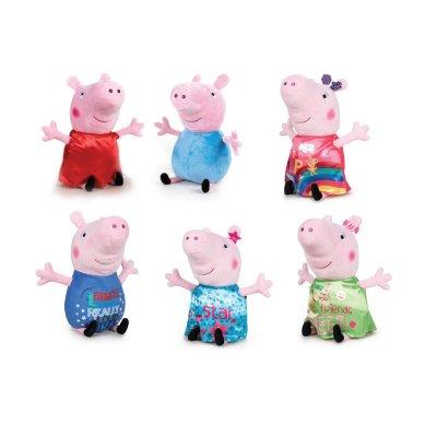 Wholesaler of Peluches Peppa Pig Happy Oink 20cm