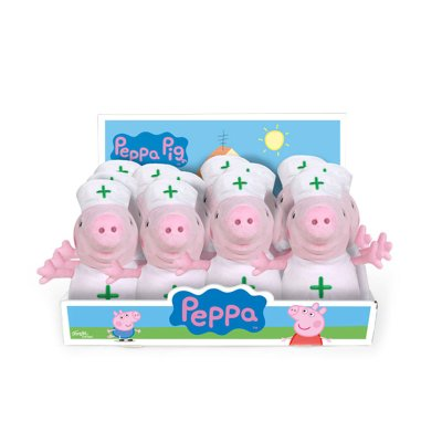 Expositor Peluches Peppa Pig Enfermera 20cm