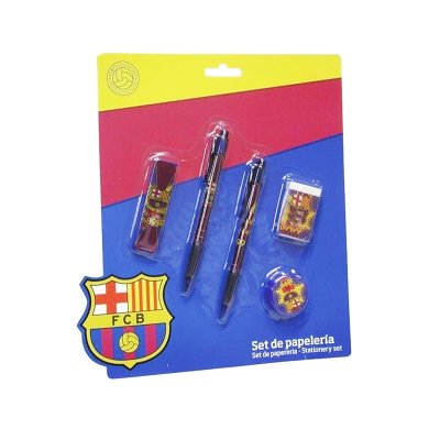 Set de papelería 5 piezas Barcelona FC