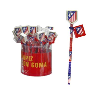 Lápiz con goma Atlético de Madrid