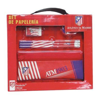 Wholesaler of Set de papelería con portatodo tela Atlético de Madrid