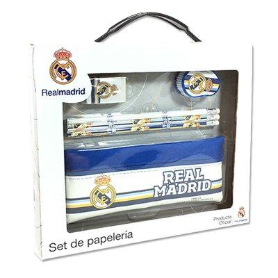 Wholesaler of Set de papelería 6 piezas en maletín Real Madrid