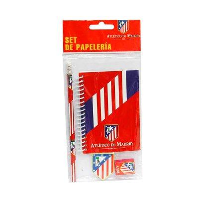 Distribuidor mayorista de Set libreta + 3 piezas Atlético de Madrid
