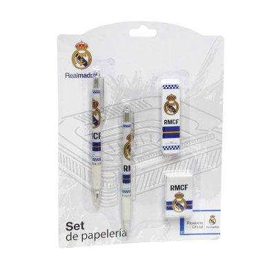 Distribuidor mayorista de Set de escritura 4 piezas Real Madrid