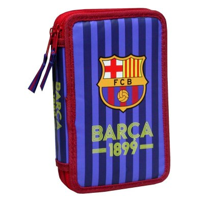 Doble pencil case F.C Barcelona