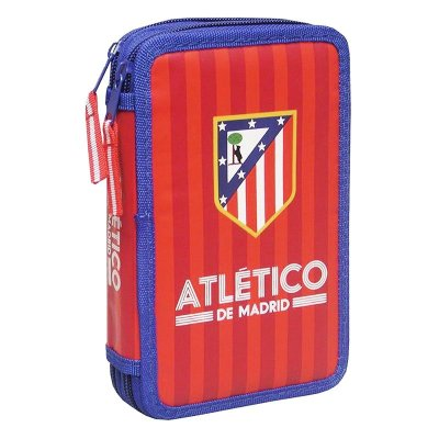 Doble pencil case Atlético de Madrid