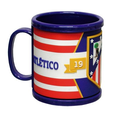 Taza tacto goma 3D 300ml Atlético de Madrid - Kilumio cd3bedeec5847