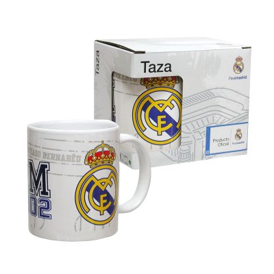 Taza cerámica 300ml Real Madrid