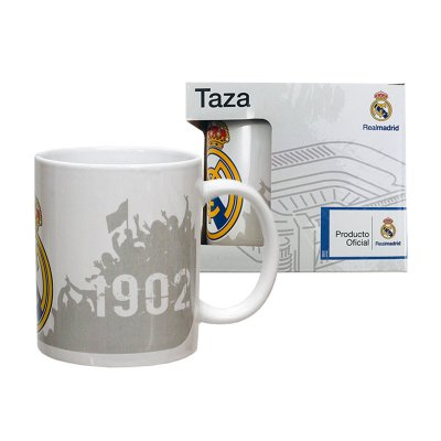 Taza cerámica 300ml Real Madrid 1902 Afición