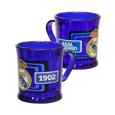 Wholesaler of Real Madrid traslucent plastic mug