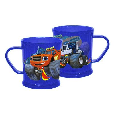 Blaze and the Monster Machines traslucent plastic mug