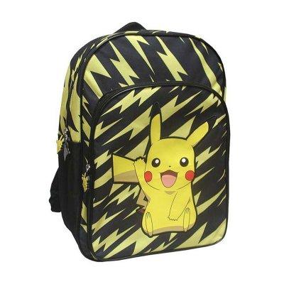 Mochila 42cm Pokemon Pikachu 2 cremalleras