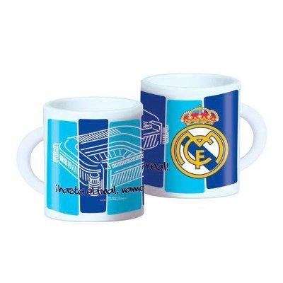 Wholesaler of Real Madrid plastic microwavable mug 360ml