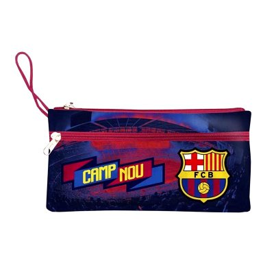 Wholesaler of Estuche F.C Barcelona triple cremallera