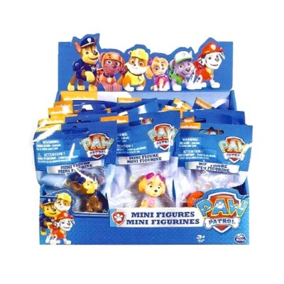 Wholesaler of Sobres minifiguras toppers Paw Patrol