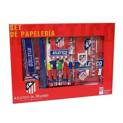 Set de papelería 20 piezas Atlético de Madrid