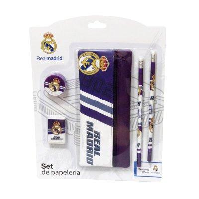 Set de papelería 5 piezas FC Real Madrid
