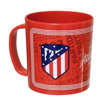 Taza plástico microondas 260ml F.C Atlético Madrid