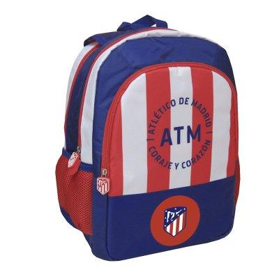 Mochila reversible 41cm Atlético de Madrid 3 cremalleras