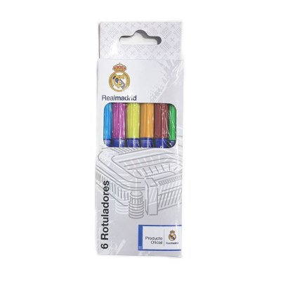 Wholesaler of Set de 6 rotuladores Real Madrid