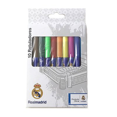 Wholesaler of Set de 10 rotuladores Real Madrid