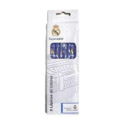 Wholesaler of Set de 8 lapices color Real Madrid