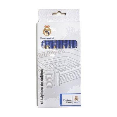 Wholesaler of Set de 12 lapices colores Real Madrid