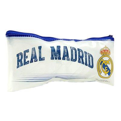 Estuche Real Madrid plástico plano 19x9cm