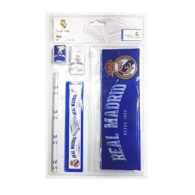 Set de papelería 5 piezas FC Real Madrid 1902