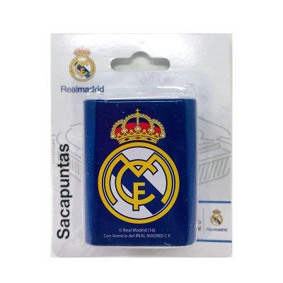 Sacapuntas metálico Real Madrid - azul