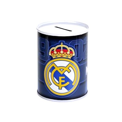 Hucha cubilete metal Real Madrid